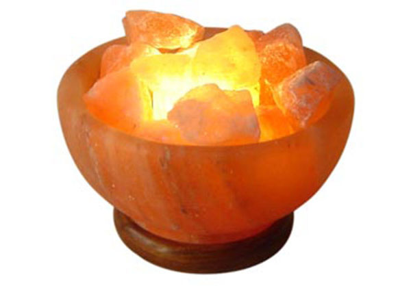 Salt Fire Bowl Lamp