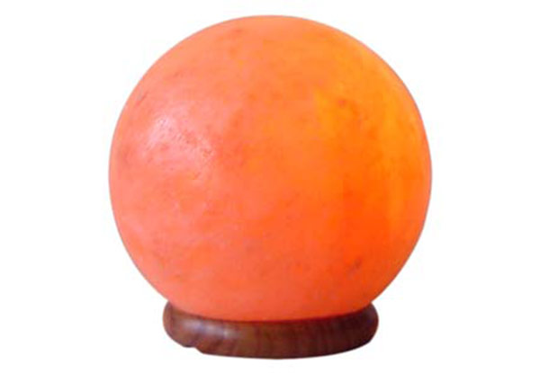 Sphere Shaped Salt Lamp
